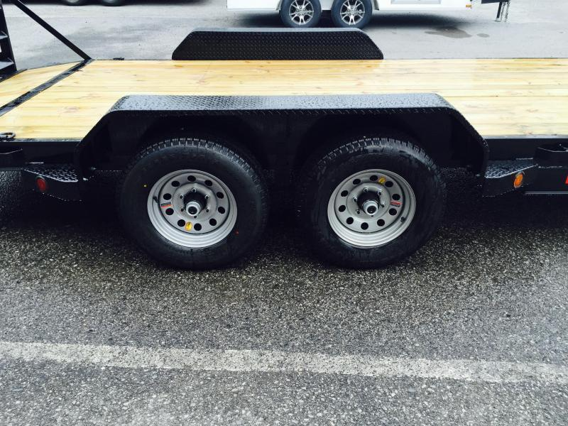 2019 Ironbull 7x20' Lowboy Equipment Trailer 9990# GVW STAND UP RAMPS