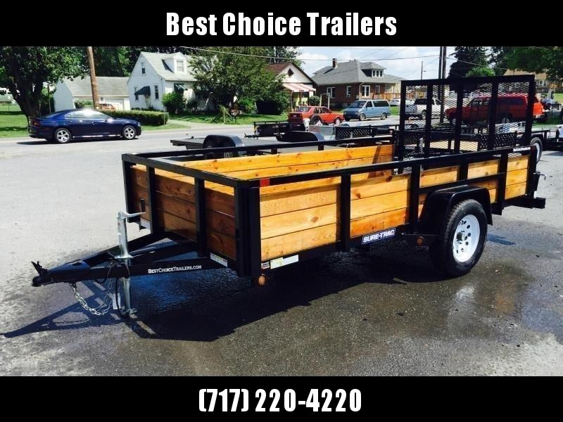 2018 Sure-Trac 5x8 3-Board High Side Tube Top Utility Trailer 2990# GVW
