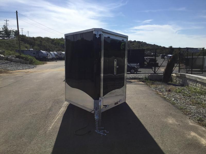 2019 Neo 7x24' Aluminum Enclosed Snowmobile All-Sport Trailer * 4-PLACE SLED/2-PLACE UTV * BLACK * 7' HEIGHT UPGRADE