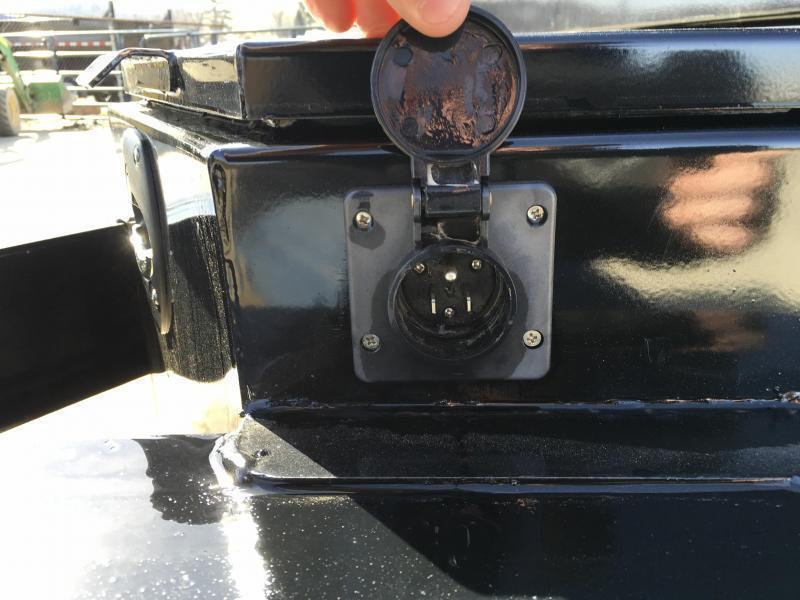 2019 Iron Bull 7x16' Dump Trailer 14000# GVW RAMPS * TARP * SCISSOR * SPARE MOUNT * CLEARANCE PRICED