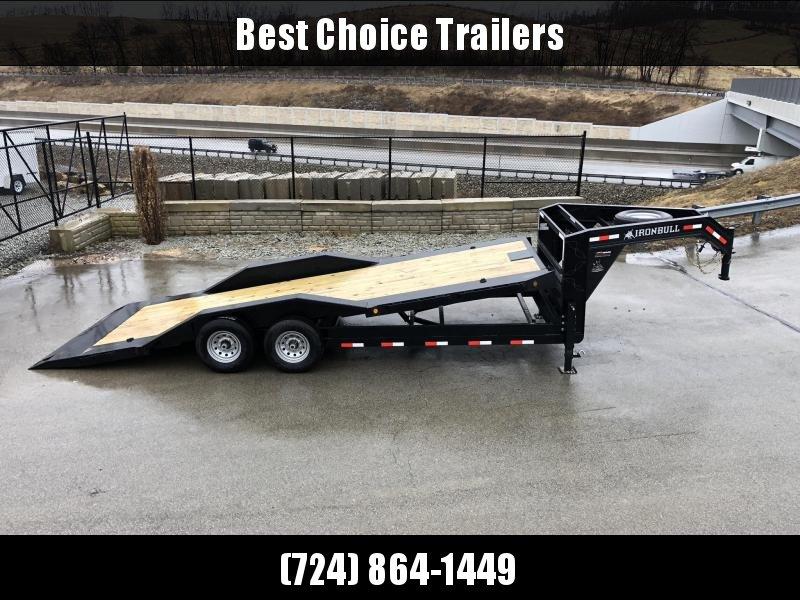 """2019 Ironbull 102x22 Power Tilt Equipment Trailer 14000# * 102"""" DECK * DRIVE OVER FENDERS * TORSION * POWER TILT"""