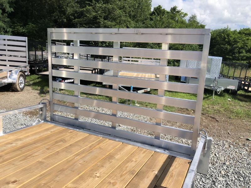 2019 QSA 7x14' 7000# GVW Aluminum Landscape Utility Trailer