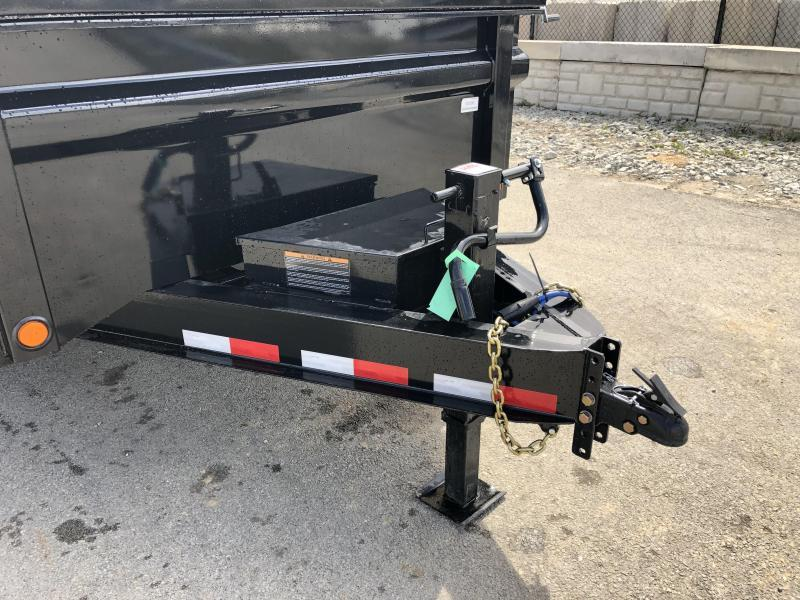 "2019 Load Trail 7x12' Dump Trailer 14000# GVW * DT8312072 * 8"" I-BEAM FRAME * 12K JACK * 3-WAY GATE * TARP KIT * SCISSOR HOIST * 10GA 2PC SIDES & FLOOR * 6"" TUBE BED FRAME * 110V CHARGER * DEXTER'S * 2-3-2 * POWDER PRIMER"
