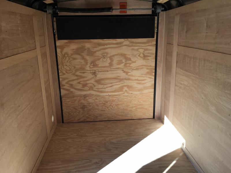 2016 Sure-Trac 6 x 10 STRW Round Top V-nose Enclosed Cargo 2990# GVW * ALUMINUM WHEEL UPGRADE