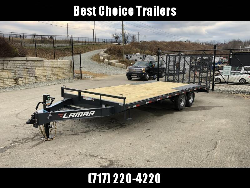 2019 Lamar F8 102x22' Beavertail Deckover Trailer 14000# GVW * 5' HD GATE