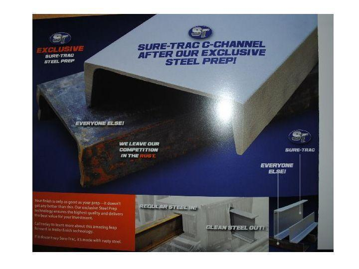 2019 Sure Trac 7x16' Tube Top Utility Landscape Trailer 7000# GVW