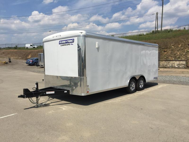 2018 Sure-Trac 8.5x20 STRLP Landscape Pro Package Trailer 9900# GVW * PROFESSIONAL LANDSCAPING TRAILER