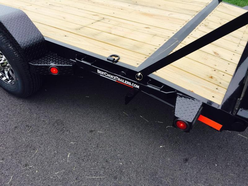 2018 Norstar Ironbull 7x18' Equipment Trailer 14000# GVW * CLEARANCE - FREE ALUMINUM WHEELS
