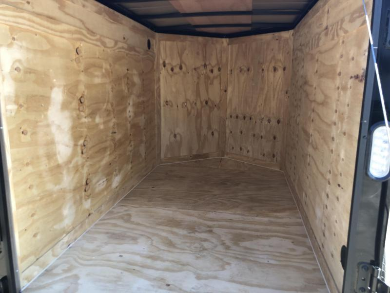 2019 Rock Solid 5x8' Enclosed Cargo Trailer 2990# GVW * BLACKOUT PACKAGE