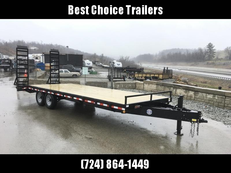 2018 QSA 102x22+4 HD LP Beavertail Deckover Trailer 13600#