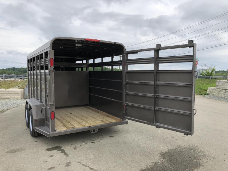 2018 CornPro 16' Livestock Trailer 7000# GVW * BEIGE * CLEARANCE