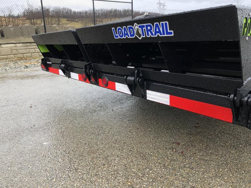 """2019 Load Trail 7x24' Equipment Trailer 14000# GVW * CH8324072 * 8"""" TONGUE & FRAME * DUAL JACKS * FULL WIDTH MAX RAMPS * D-RINGS * COLD WEATHER * DEXTER'S * 2-3-2 * POWDER PRIMER"""