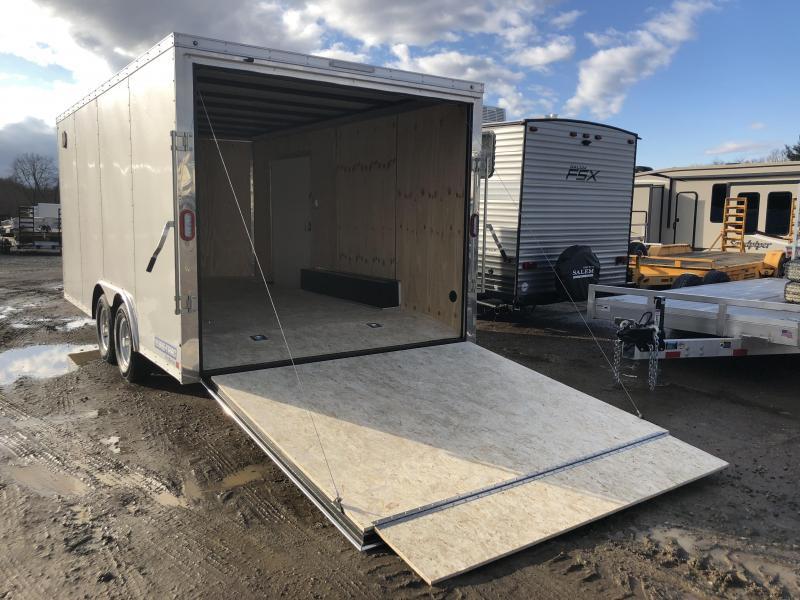 2018 Sure-Trac 8.5x16' Enclosed Cargo Trailer 7000# GVW * WHITE