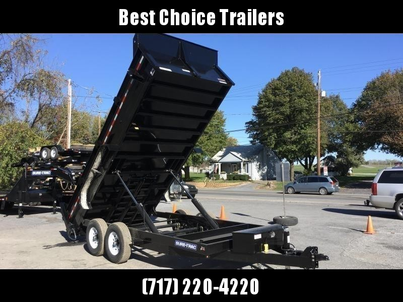 2019 Sure-Trac 7x16' HD LowPro Dump Trailer 14000# GVW