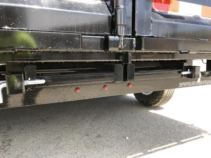 2019 Sure-Trac 7x14' LowPro HD Dump Trailer 14000# GVW * TARP KIT * SPARE TIRE * SPECIAL