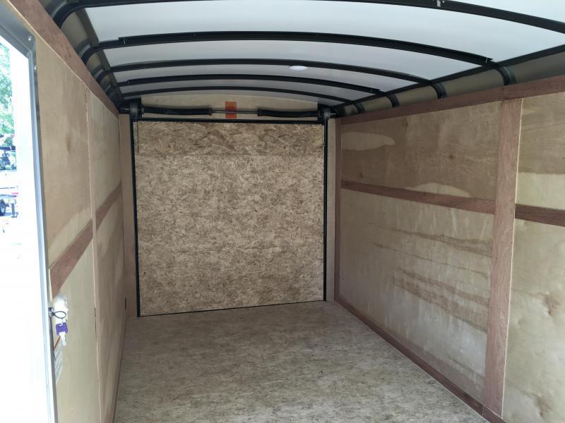 2018 Sure-Trac 7x16' Enclosed Cargo Trailer 7000# GVW * SCREWLESS EXTERIOR