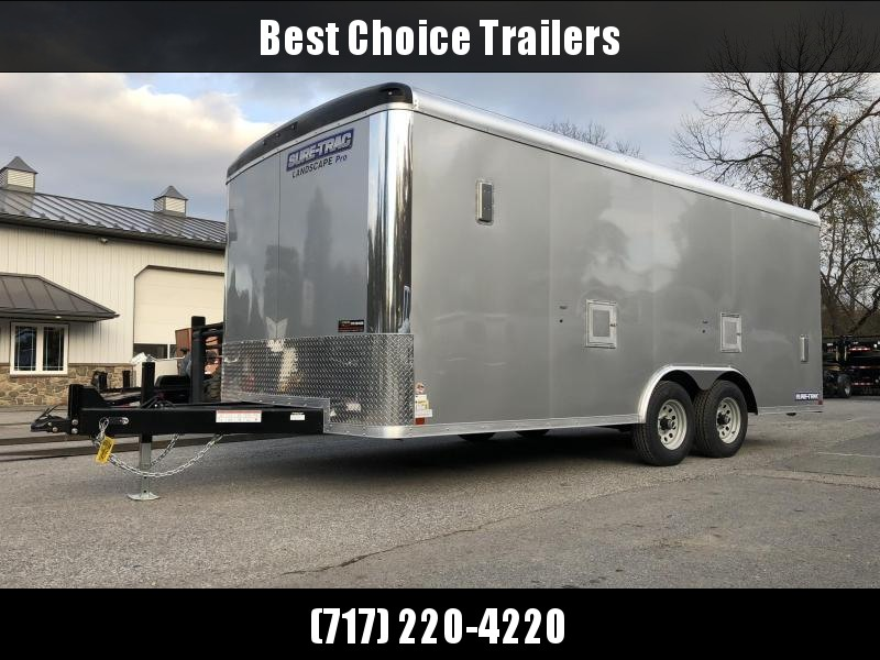 2019 Sure-Trac 8.5x18 STRCH Landscape Pro Package Trailer 9900# GVW * AVAILABLE BY SPECIAL ORDER * PROFESSIONAL LANDSCAPER SERIES in Ashburn, VA