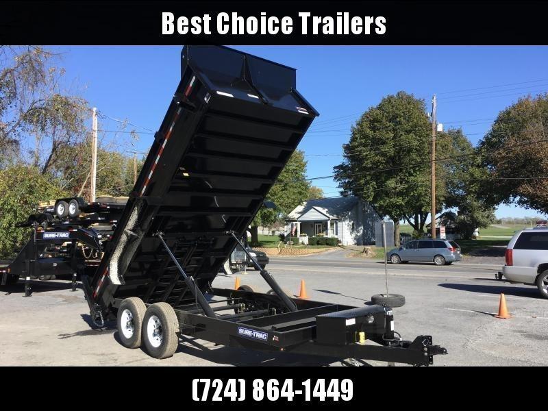 2018 Sure-Trac 7x16' HD LowPro Dump Trailer 14000# GVW