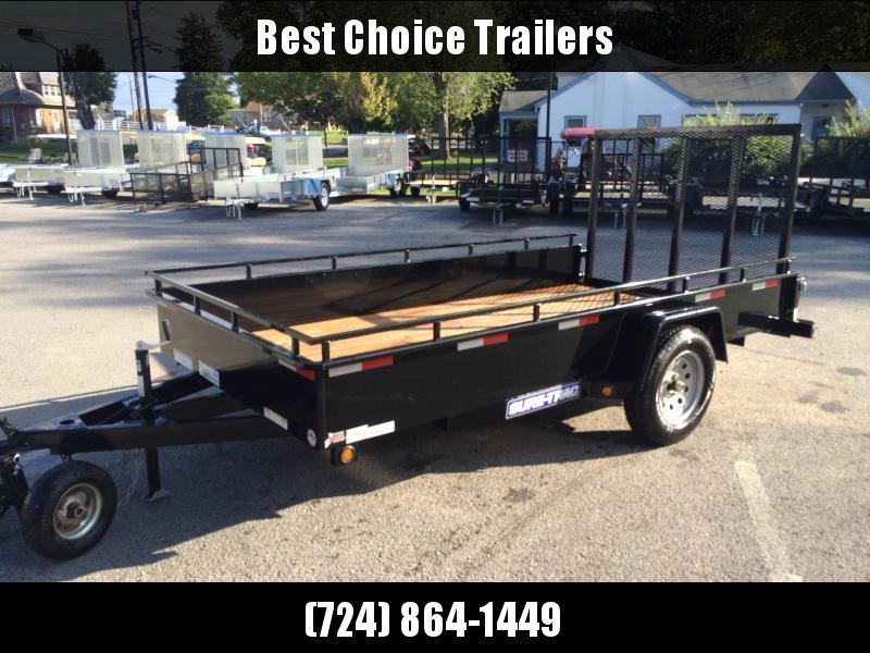 2018 Sure-Trac 6x10' Steel High Side Utility Trailer 2990# GVW * CLEARANCE - FREE SPARE TIRE