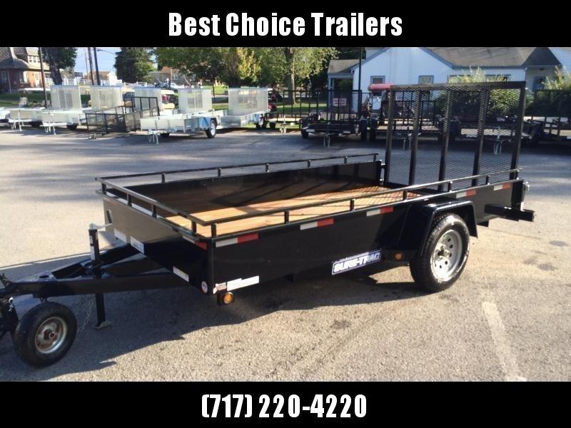 2019 Sure-Trac 5x10' 2990# Steel High Side Landscape Utility Trailer