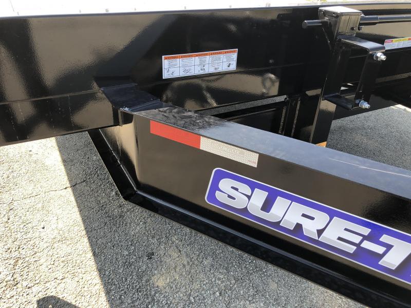 2018 Sure-Trac 102x20+5 15K Beavertail Deckover Trailer * MUD FLAPS * CLEARANCE - FREE ALUMINUM WHEEL UPGRADE