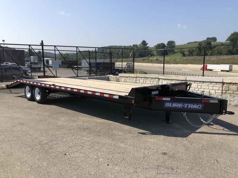 2018 Sure-Trac 102x20+5 15K Beavertail Deckover Trailer * MUD FLAPS