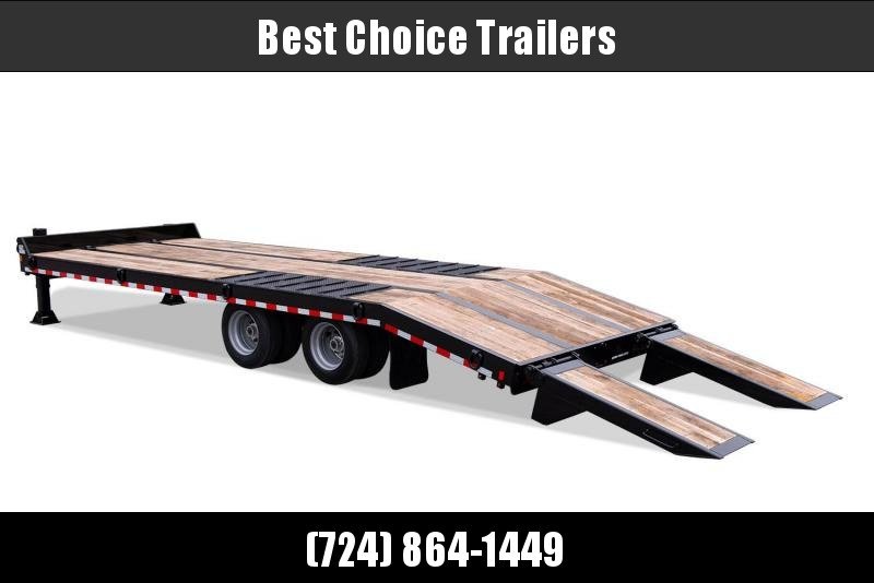 2019 Sure-Trac ST102205ABDO2A-B-490 Air Brake Beavertail Deckover Trailer 49000# GVW