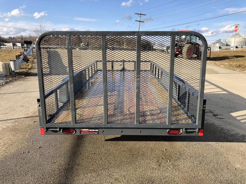 2019 X-On 7x18' Utility Landscape Trailer 7000# GVW * TUBE TOP * CHARCOAL