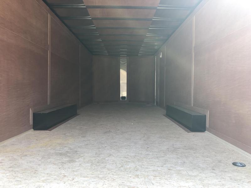2019 Wells Cargo 8.5x20' Fastrac DELUXE Enclosed Car Trailer 7000# GVW * CHARCOAL EXTERIOR * RAMP DOOR * .030 METAL