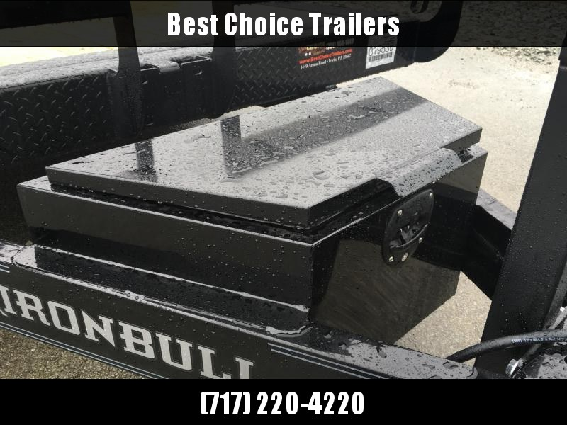 2019 Iron Bull 7x20' Tilt Equipment Trailer 14000# GVW * POWER TILT * TORSION