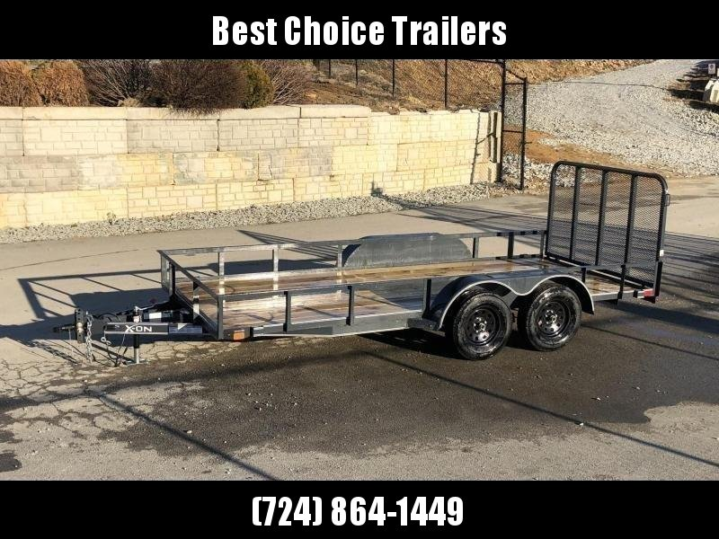 2019 X-On 77x16' Utility Landscape Trailer 7000# GVW * CHARCOAL in Ashburn, VA