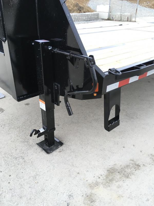 2019 Sure-Trac 102x25+5 22K Beavertail Deckover Trailer Pierced Frame