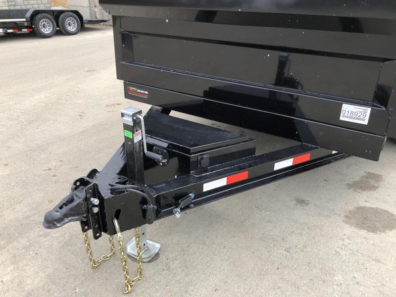 2018 Iron Bull 7x12' Dump Trailer 14000# GVW RAMPS * TARP * SCISSOR