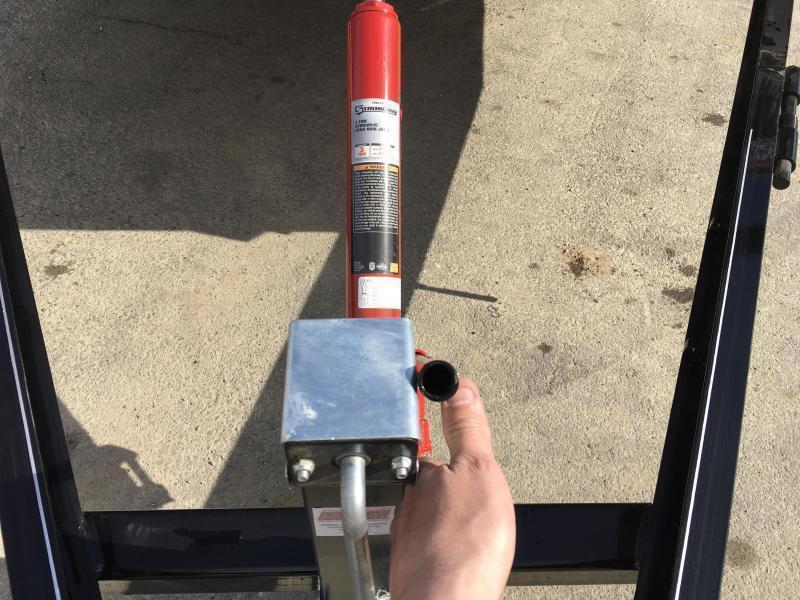 2019 H&H 7x20' MX Manual Tilt Car Hauler 7000# GVW