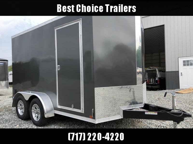 2019 Sure-Trac 7x12' Enclosed Cargo Trailer 7000# GVW * CHARCOAL in Ashburn, VA