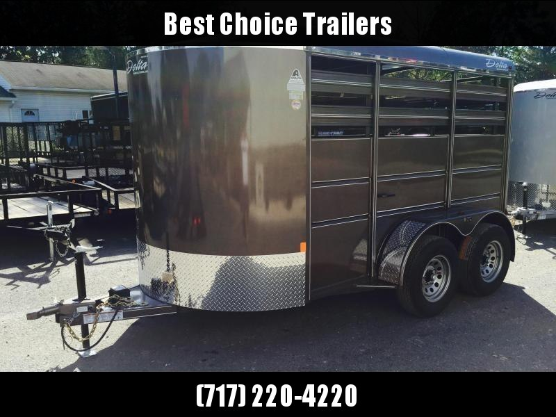 2019 Delta 12' Livestock Trailer 500ES * Beige in Ashburn, VA