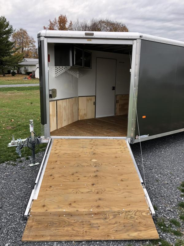 2019 Neo 7x28' NASR Aluminum Enclosed All-Sport Trailer * DELUXE MODEL * SILVER * UTV * ATV * Motorcycle * Snowmobile