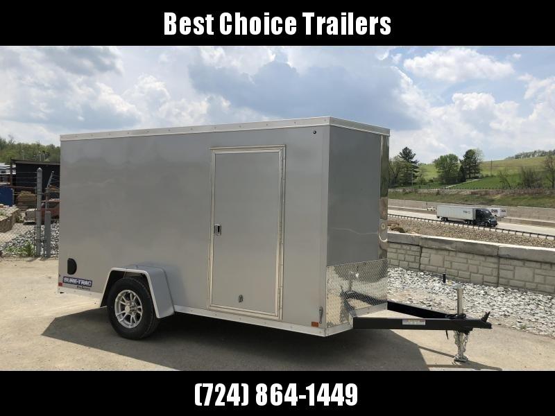 2019 Sure-Trac 6x12' STW Enclosed Cargo Trailer 2990# GVW * SILVER * RAMP DOOR