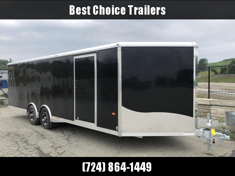 2018 NEO 8.5x24' NCX Enclosed Car Trailer 9900# GVW - FULL ESCAPE DOOR