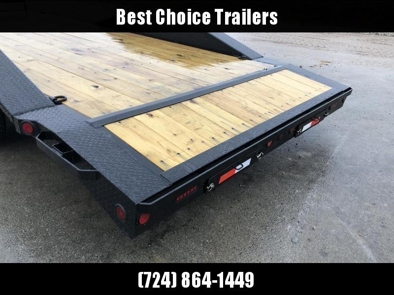 "2020 Iron Bull 102""x20' Wood Deck Car Trailer 9990# GVW * 102"" DECK * DRIVE OVER FENDERS"