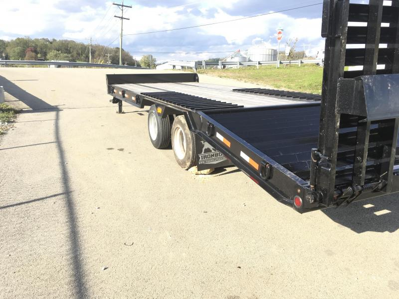 2018 Iron Bull 102X22+6' Air Brake Deckover FLP0228252 Flatbed Trailer 50000# GVW * CLEARANCE