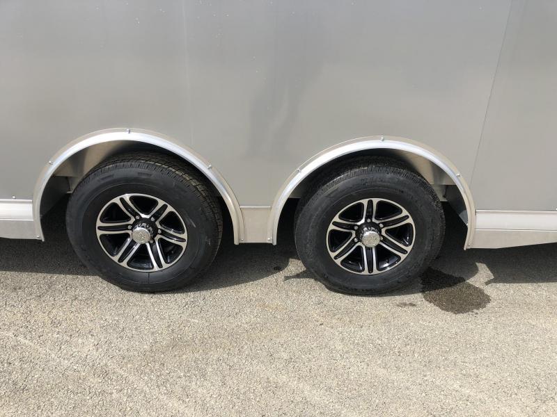 2018 NEO Aluminum 8 5x20' 9900# Spread Axle Enclosed Car