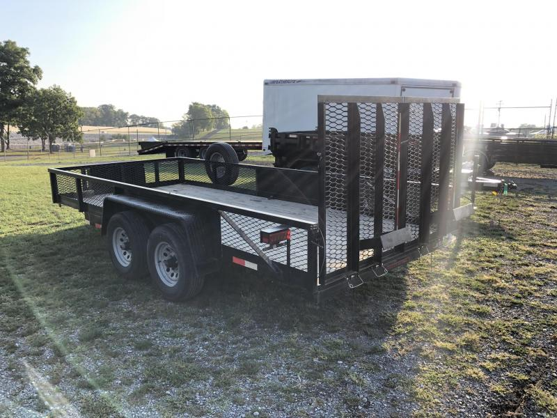 USED 2016 Holmes 7x16' Utility Landscape Trailer 9990# GVW * MANY OPTIONS