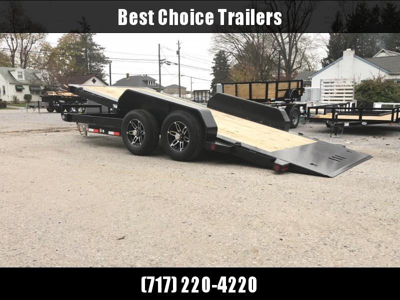 2019 Iron Bull 7x16' Equipment Trailer 9990# GVW - POWER TILT * TORSION * ALUMINUM WHEELS in Ashburn, VA