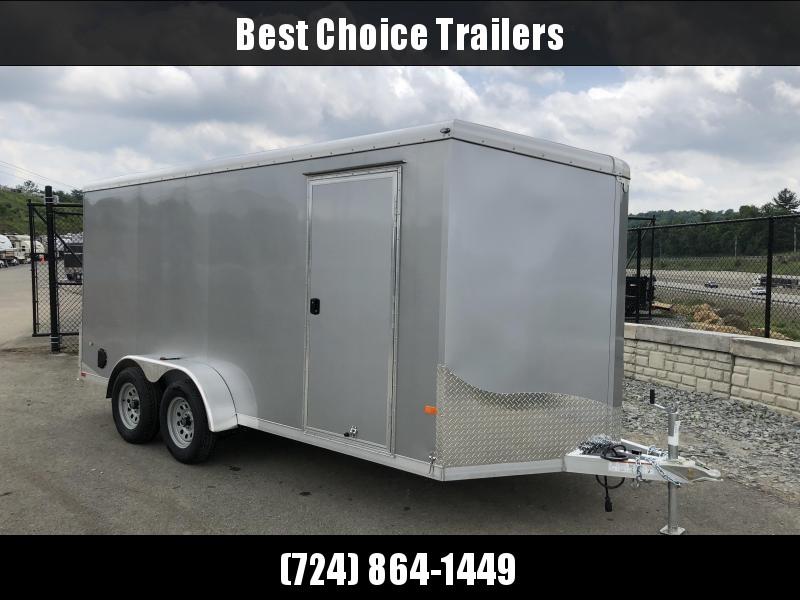 2018 Neo 7x16' NAVR Aluminum Enclosed Cargo Trailer * RAMP DOOR * STAB JACKS *