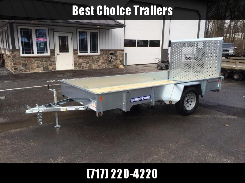 2018 Sure-Trac 6x10' Galvanized High Side Landscape Utility Trailer 2990# GVW * FREE ALUMINUM WHEELS in Ashburn, VA