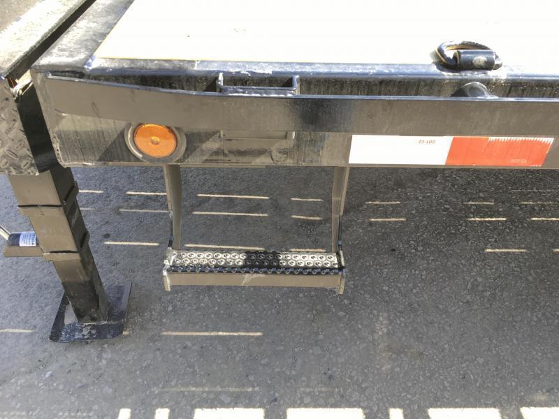 "2018 Iron Bull 102""x24' Gooseneck Deckover Power Tilt 14000# GVW * WINCH PLATE * CLEARANCE - FREE ALUMINUM WHEELS"
