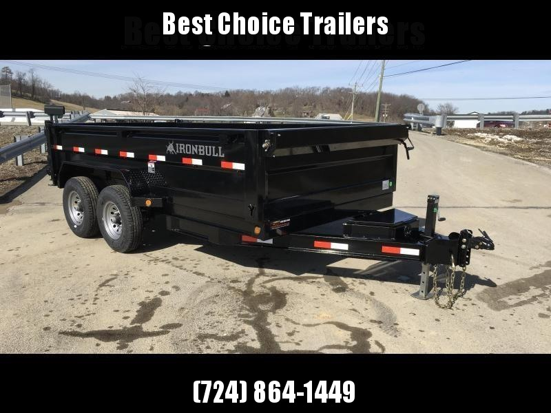 2018 Iron Bull 7x14' Dump Trailer 14000# GVW RAMPS * TARP * SCISSOR * CLEARANCE in Ashburn, VA
