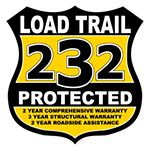 2019 Load Trail 7x16' Equipment Trailer 14000# GVW * CH8316072-EQ * STAND UP RAMPS * D-RINGS * COLD WEATHER * DEXTER'S * 2-3-2 * POWDER PRIMER