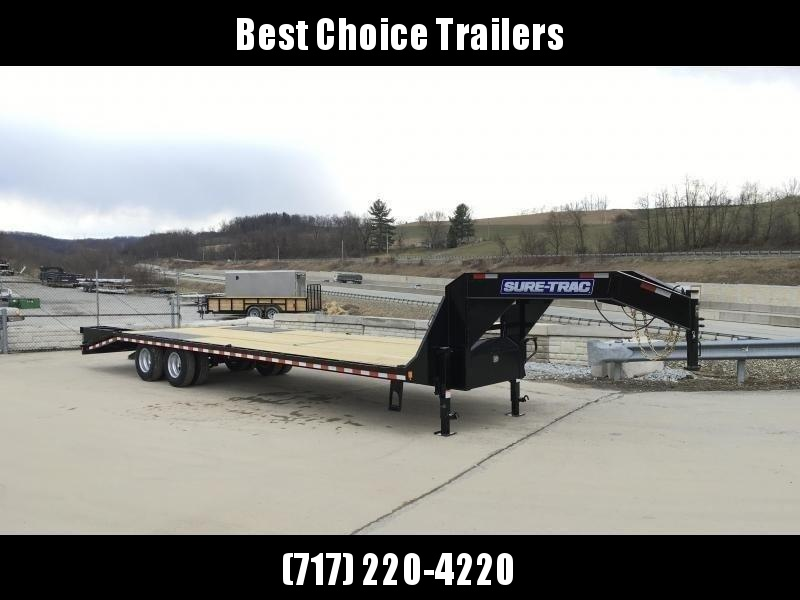 2019 Sure-Trac 102x25+5 22K Beavertail Deckover Trailer Pierced Frame in Ashburn, VA